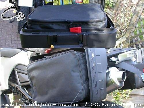 i10ktgp vario koffer innentaschen bmw f800gs f800 gs ebay. Black Bedroom Furniture Sets. Home Design Ideas